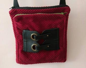 Handmade Fabric Shoulder Cross body Bag