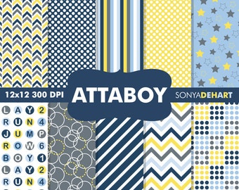 80% OFF SALE Baby Digital Papers, Baby Shower Papers, Baby Boy Papers, Baby Paper Packs, Boy Patterns, Boy Digital Papers, Boy Patterns
