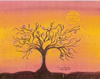 Autumn Moonlight Fantasy Glistens
