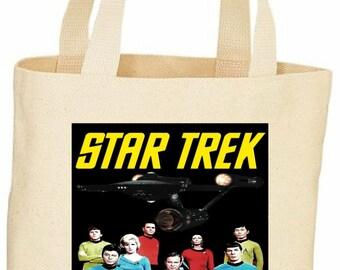 Star Trek Original series vintage style tote bag