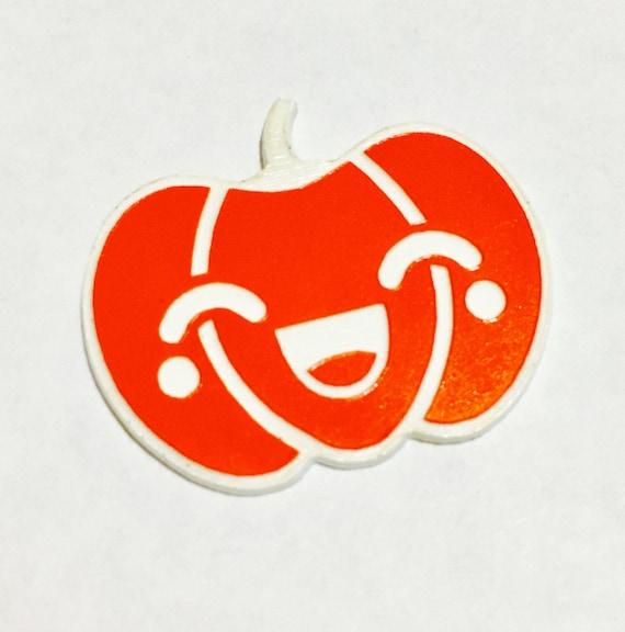 Laser Cut Supplies- 1 Piece. Kawaii Halloween Pumpkin Happy Charms - Laser Cut Acrylic-Laser Cut- Little Laser Lab