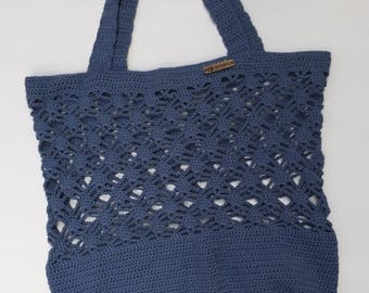 Crochet Tote Bag, Mesh Shopper, Reusable Bag, Crochet Market Bag, Crochet Beach Bag, Crochet Shopping Bag, Eco Friendly Bag, Mesh Bag