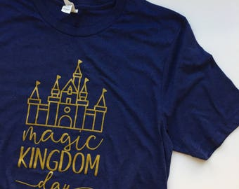 Magic Kingdom Day - Disney Inspired Women's Graphic Tee/Tank - Disney Shirt - Magic Kingdom Shirt
