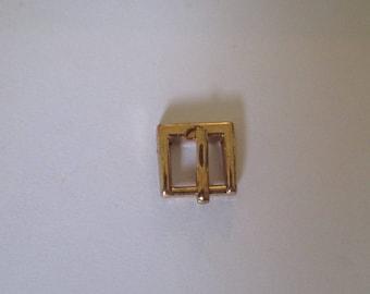 fermoir en métal doré pour bracelet