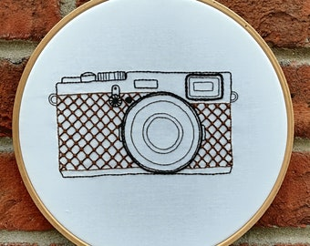 camera embroidery kit