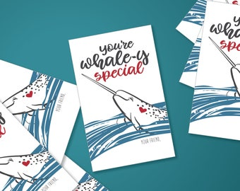 Whaley Special Mini Cards Printable