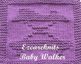 Knitting Cloth Pattern - BABY WALKER