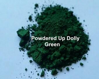 Free Shipping! 5g 5 Grams  Matte GREEN Oxide DIY Soap Make Up Cp Mp MnP Cosmetic Pigment Powder