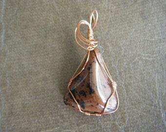Mahogany Obsidian Pendant