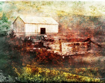 Old family barn, retro photography, nostalgic photography, history