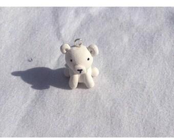 Baby polar bear charm