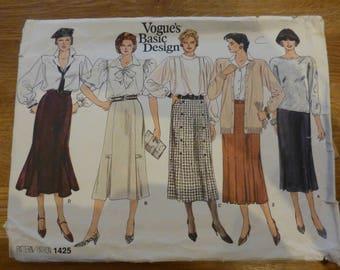Vogue Pattern 1425 - Vogue's Basic Design