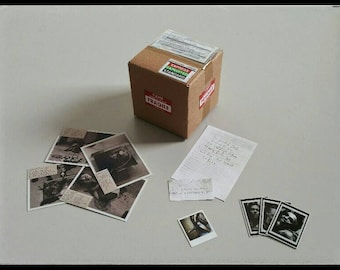 NEW Seven Photo evidence documents BOX Se7en 1:6 Action figure Diorama Accessories