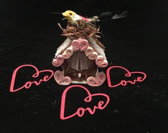 Humming bird Love