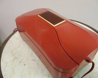 Red JewelBox Telephone from 1960's made in Italy