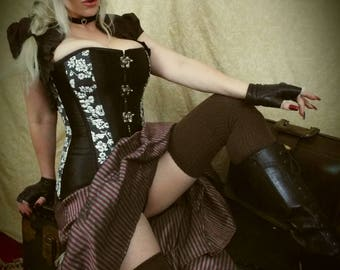 8x10 glossy print Steampunk Lady - Signed by Eva Hunter