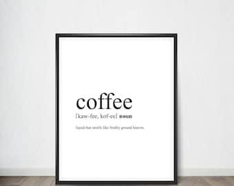 Coffee Digital Print, Inspirational Quote,Art Print, Quote, Inspirational Quote Print, Digital Art, Digital Art Print, Digital Artworks