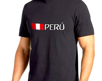 Peru bandera Horizontal texto  font Russia 2018
