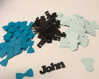 Personalized Baby Shower Confetti