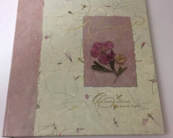 Hallmark Retirement 3 Ring Hardcover Photo Album Memory Book