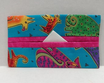 Laurel Burch Dogs and Doggies Tissue Cozy/Gift Card Holder/Party Favor/Wedding Favor