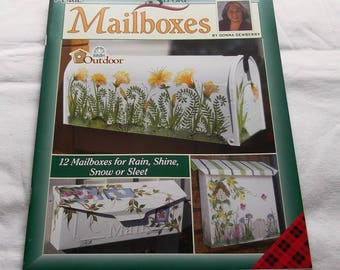 One Stroke Mailboxes, by Donna Dewberry, Decorative Painting 9822, FAST-n-FREE US Shipping, BC1