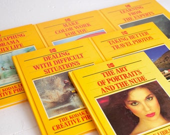 Kodak Library of Creative Photography Lot of Six Photo Guide Books - Photography Techniques and Info
