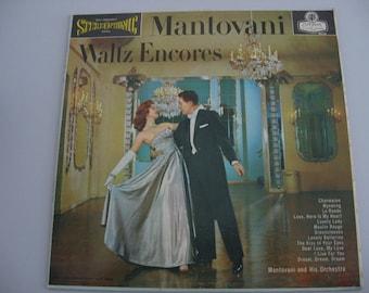 Mantovani - Waltz Encores - United Kingdom Pressing - Circa 1959
