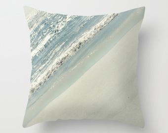 Sea, beach, ocean,  Home Decor, Decorative, Throw Pillow, Pillow, Photography RDelean