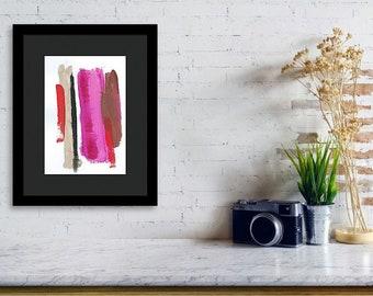 Abstract painting print, modern decor art print, abstract print painting by Laura Haycraft