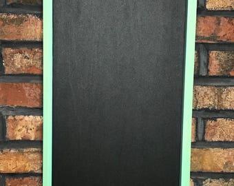 To Do List Chalkboard/Turquoise Chalkboard/Framed Chalkboard/Kitchen Chalkboard/Farmhouse Chalkboard/Chalkboard/Chalk Board/To Do List Board