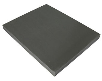 "Steel Bench Block Anvil 8"" x 10"" x 3/4"" by PEPE Tools (12.322)"