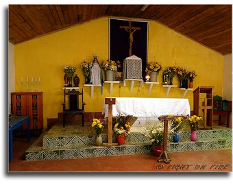 Guatemalan Church, Holy place, House of God, Christian church, Basilica, Chapel, House of God, Instant digital download photography 300dpi.