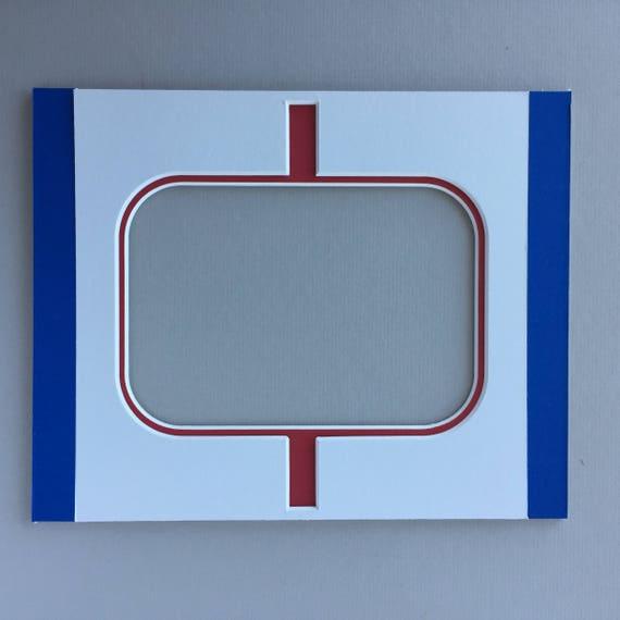 "8 x 10 Hockey Photo Mat - ""In the Crease"""