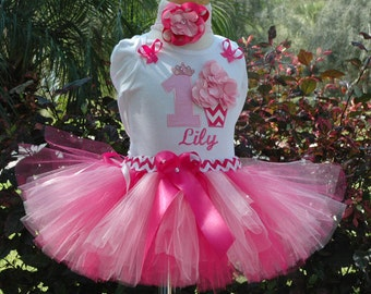 Cupcake 1st birthday girl outfit,First Birthday Cupcake Tutu Outfit, Baby Girl,One Year Old,one year old girl outfit,birthday outfit tutu