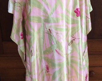 OS / California Dynasty / Nightgown/ Robe / House Dress / Gown /Vintage Lingerie / One Size