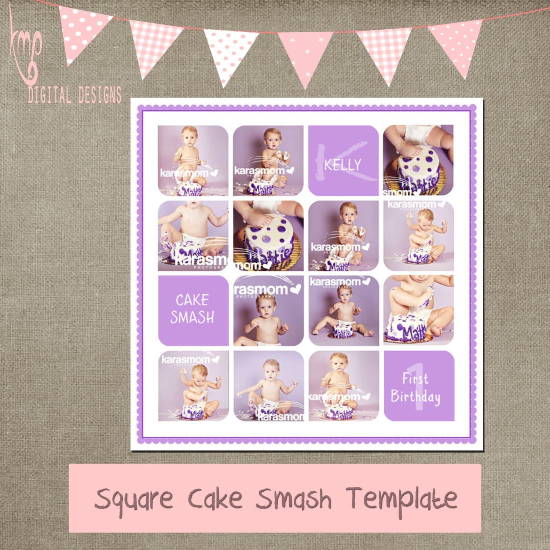 Kuchen Smash lila Vorlage Kuchen Smash Drehbuch Vorlage 20 x