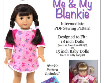 pixie faire love u bunches classic wrap skirt doll clothes pattern