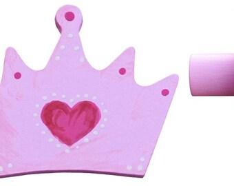 Princess Crown Drawer Knob - Crown Drawer Pull