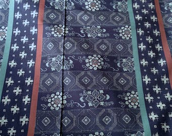 Japanese fabric, traditional pattern, background, cotton 110 x 50 (276)
