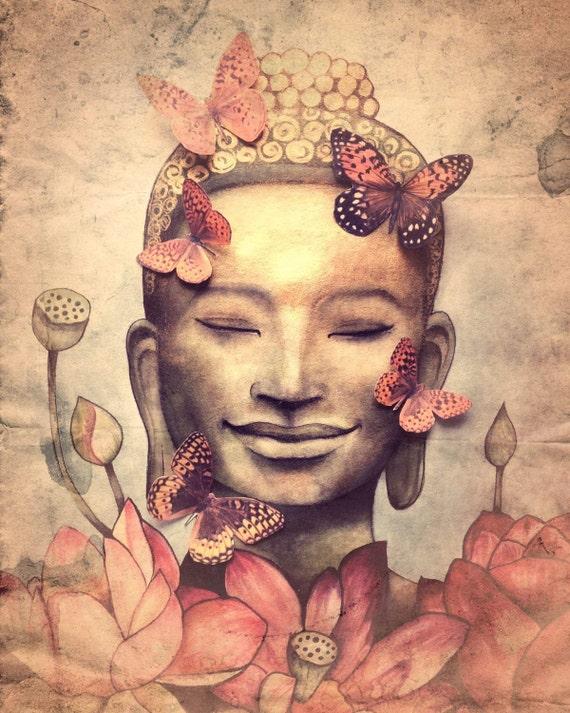 smiling buddha vintage version