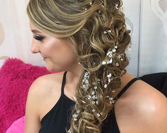 PEYTON - Pearl Hair Vine