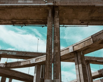 Turcot Interchange I - Highway - Montréal - Fine Art Print - Photograph - Wall Art - Decor