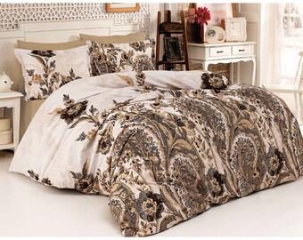 Linen Coverlet, Linen Bedspread, Linen Blanket, 01
