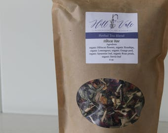 Hibiscus Rose Organic Herbal Tea Blend