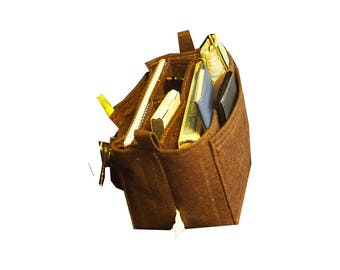 Felt purse insert,  LV,  GM,  Purse organizer, Handbag insert, 10w 6h 3d, Hard bottom, Purse Insert, Purse Shaper
