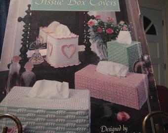 Crochet Tissue Box Covers Pattern