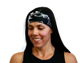 workout headband running headband yoga headband fitness hairband wide head wrap spandex headband no slip headband wicking headband yoga gear