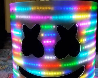 Marshmello Led Dj Head  (OVER 2,000 LEDS)
