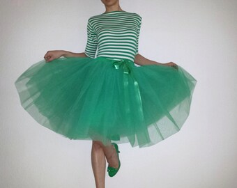Tulle petticoat Emerald 55 cm skirt